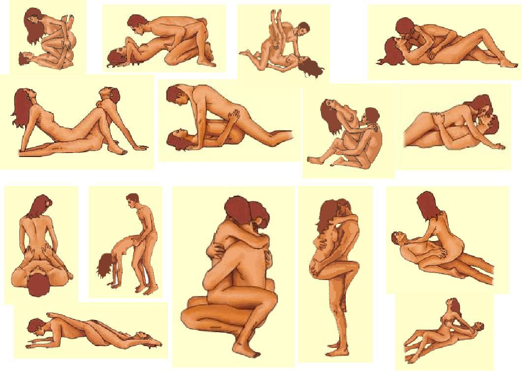 Позы в картинках анального секса