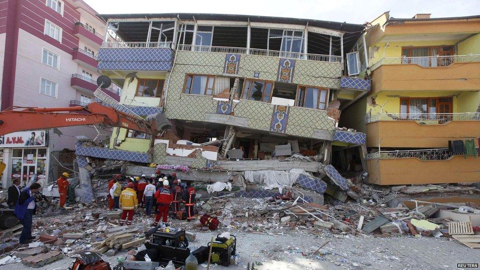 23 ekim 2011 van depremi
