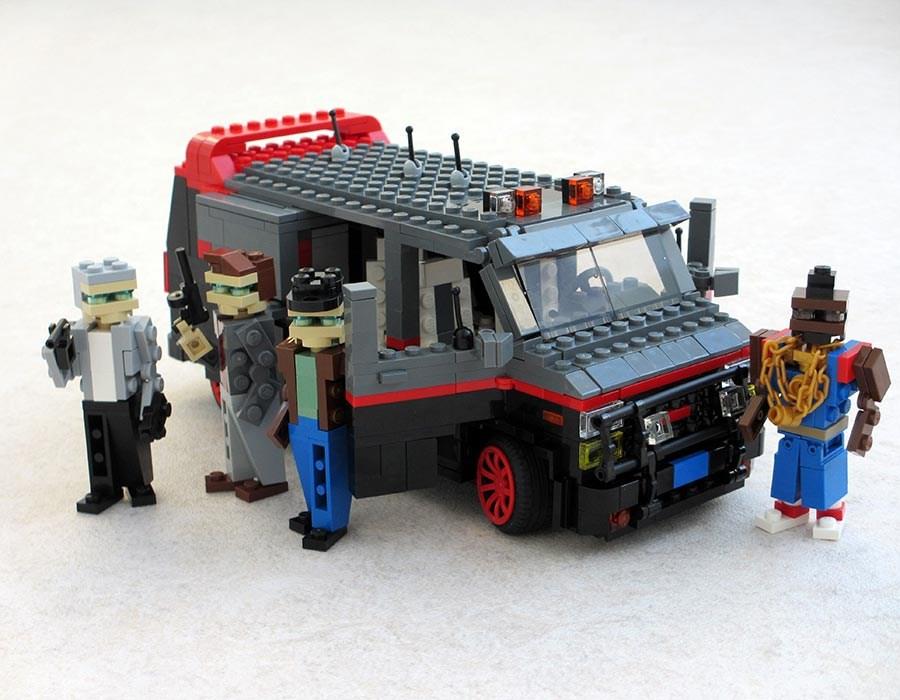 A Takımı Nın Minibüsü Instela