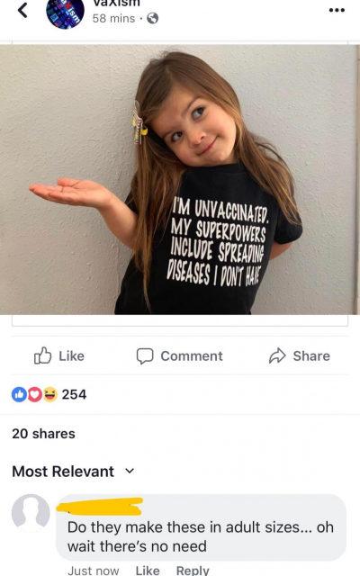 aşı karşıtlığı