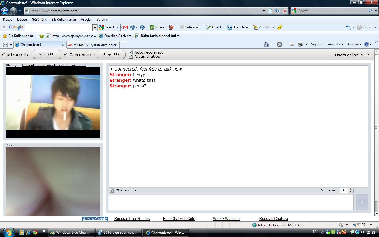 Russian webcam chat