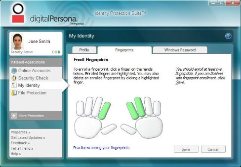 digital persona I installed windows 8 (as released to the msdn subscription community as the final release version) digital persona biometrics works in desktop but - 1897521.