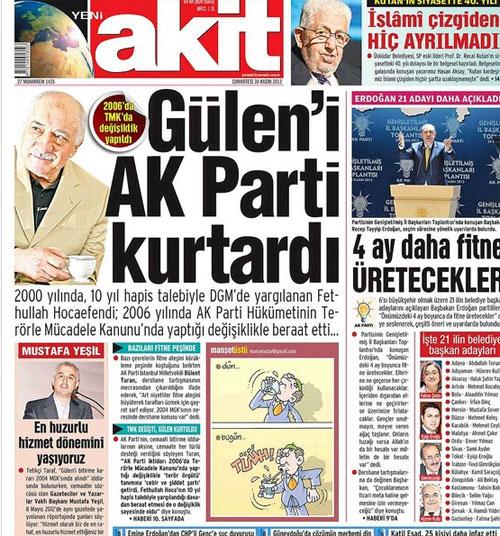 fethullah gülen in türkiye ye iadesi