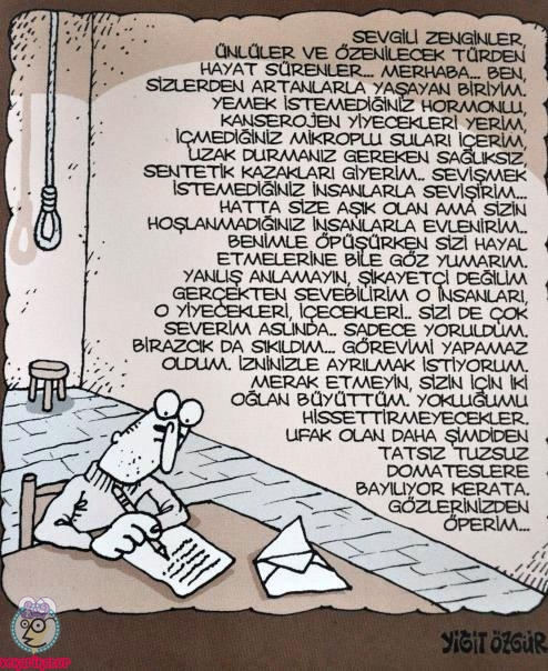 intihar mektubu