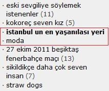 istanbul un en yaşanılası yeri