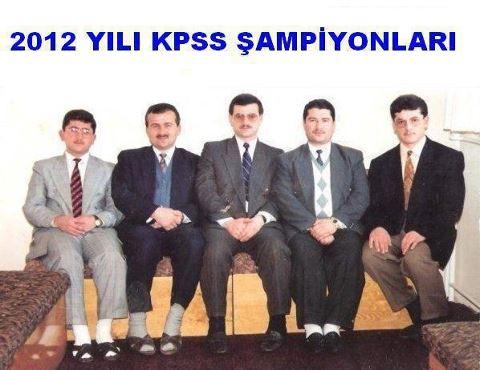 kpss 2012 şampiyonları