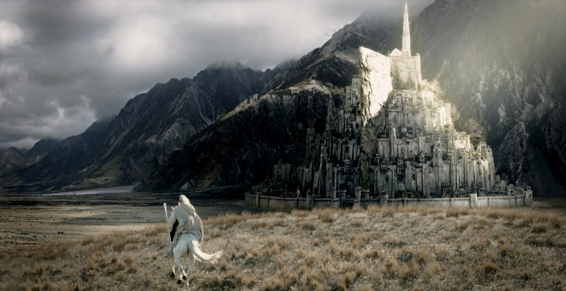 The Lord of the Rings Minas+tirith