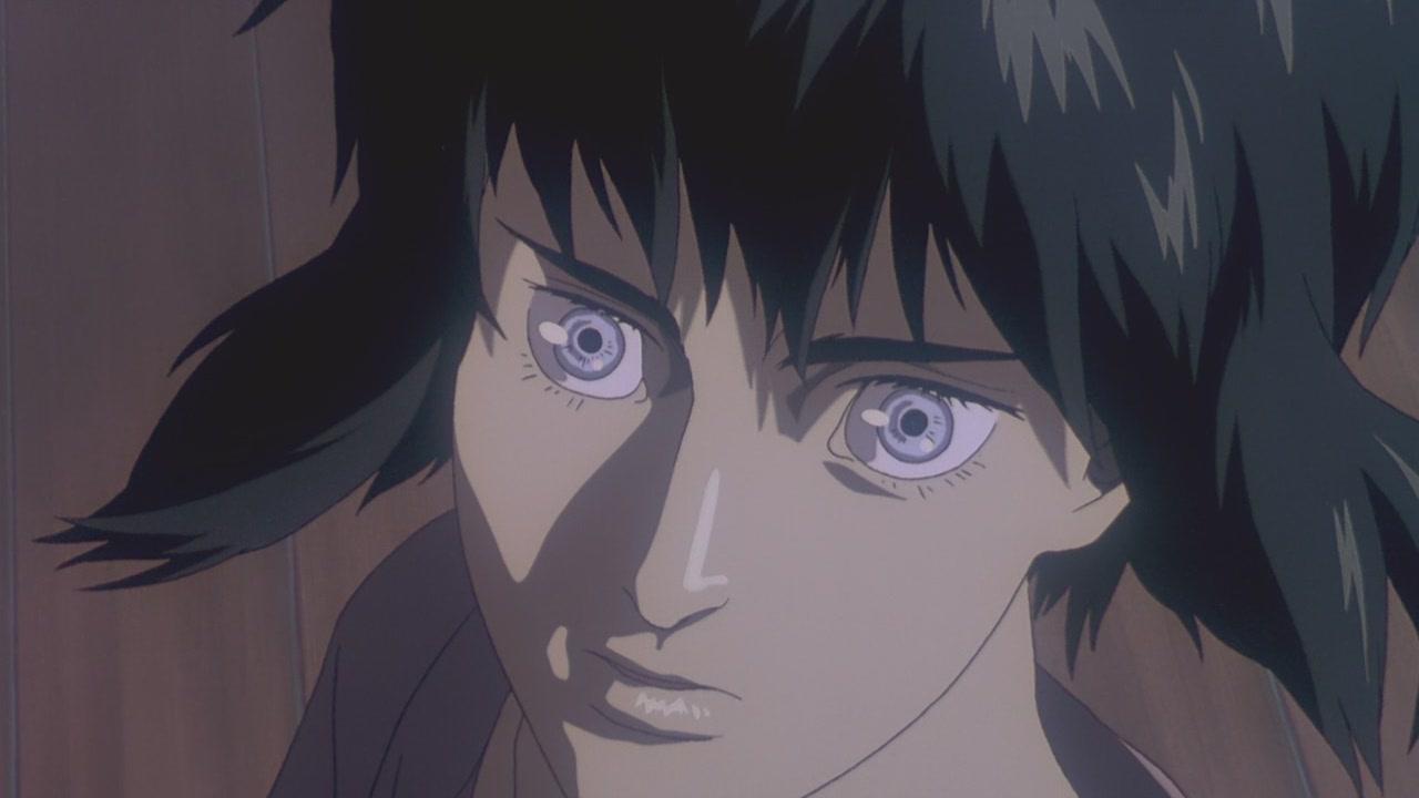 Motoko Kusanagi in the Ghost in the Shell anime
