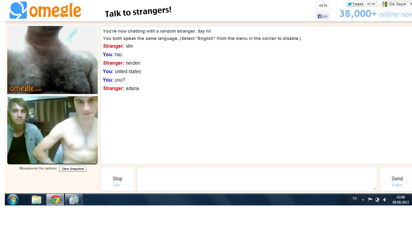 Omegle points game 2 girls 7