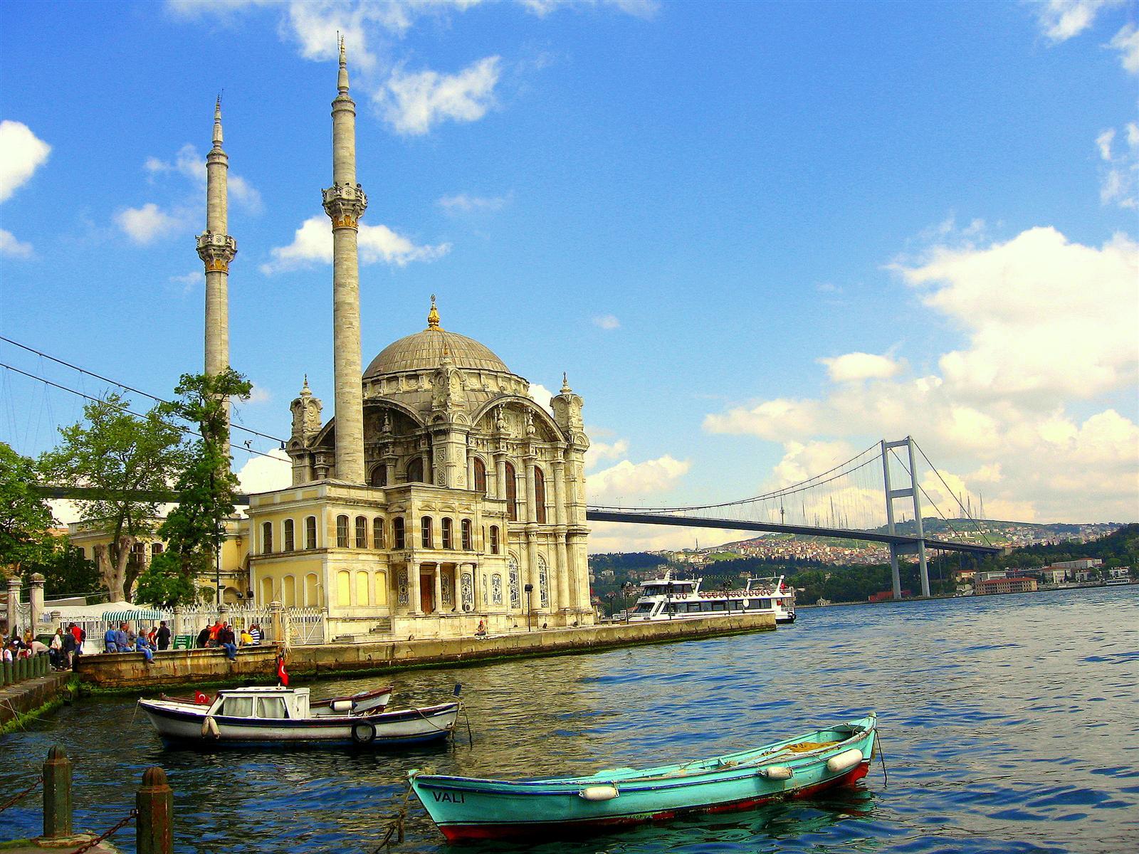 Ortaköy camii önceki sonraki