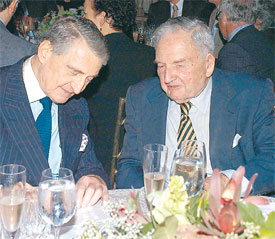rahmi koç vs david rockefeller