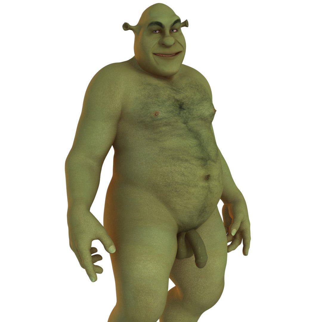 Shrek fuck tigger into the mouth 4