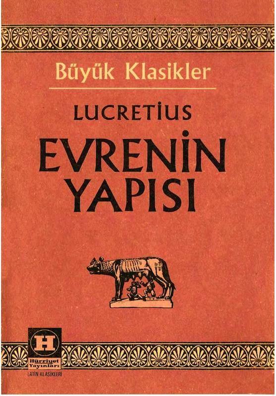 titus lucretius carus de rerum natura