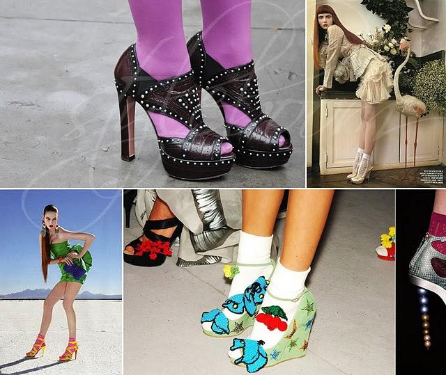 Topuklu Ayakkabının İçine Kısa Çorap