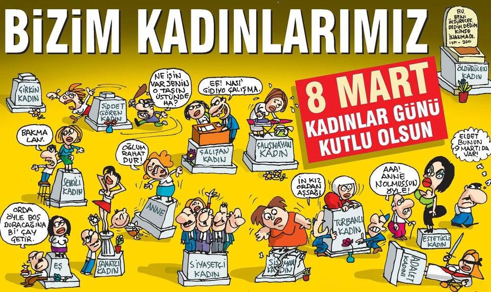 türkiye de kadın olmak