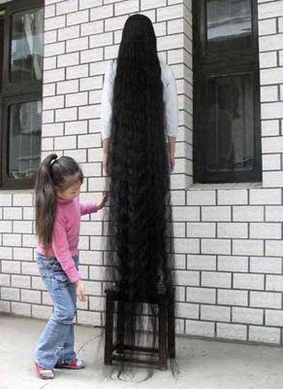 Uzun saç önceki sonraki