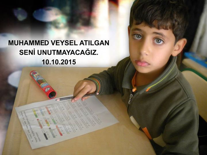 Muhammed Veysel Atilgan at school