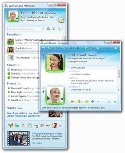 telecharger gratuitement windows live messenger